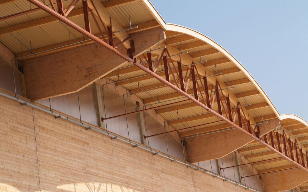NovaClick-panelen gecombineerd met hout